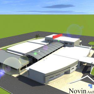 پروژه طراحی بیمارستان11