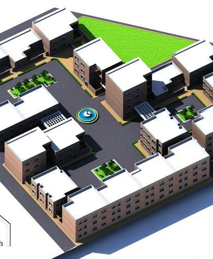 پروژه طراحی مجتمع مسکونی