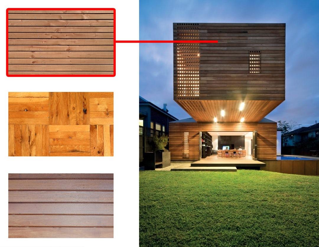 چوب در معماری