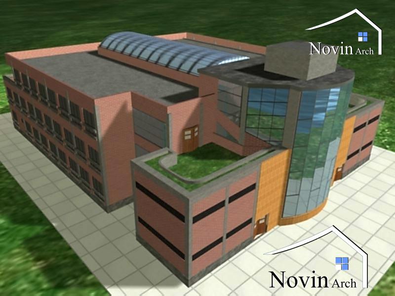 دانشکده فنی و مهندسی 3 طبقه