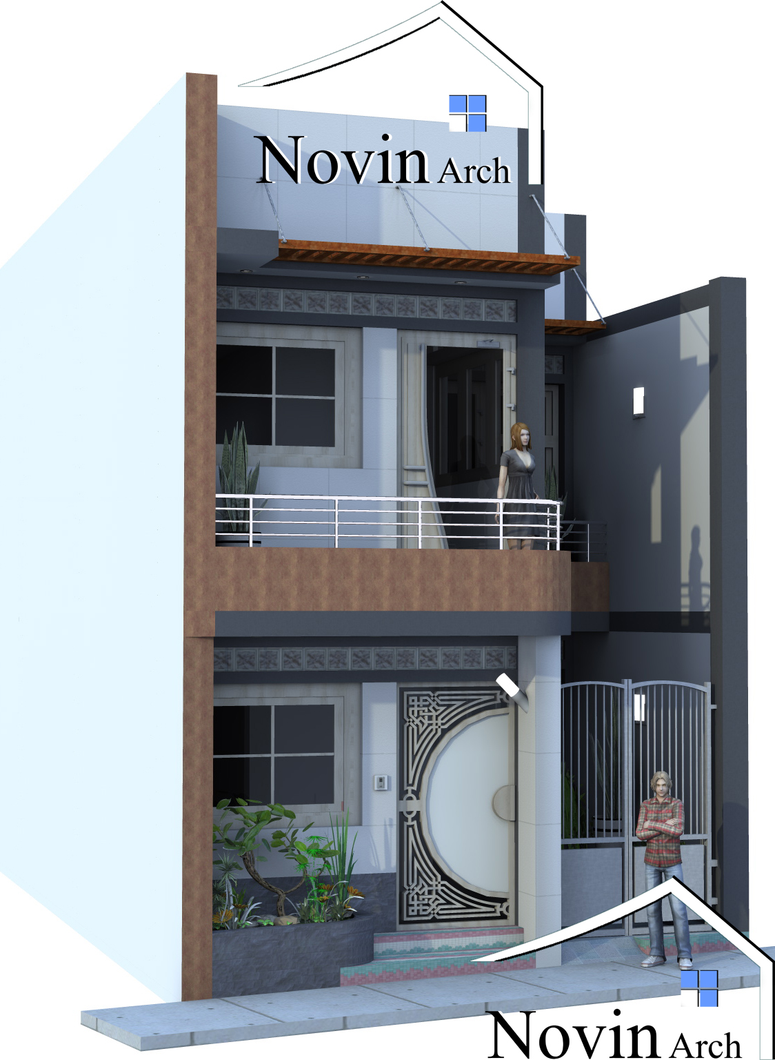 پروژه معماری خانه مسکونی