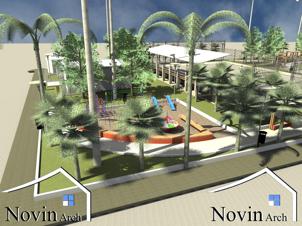 پروژه معماری پارک بزرگ شهر