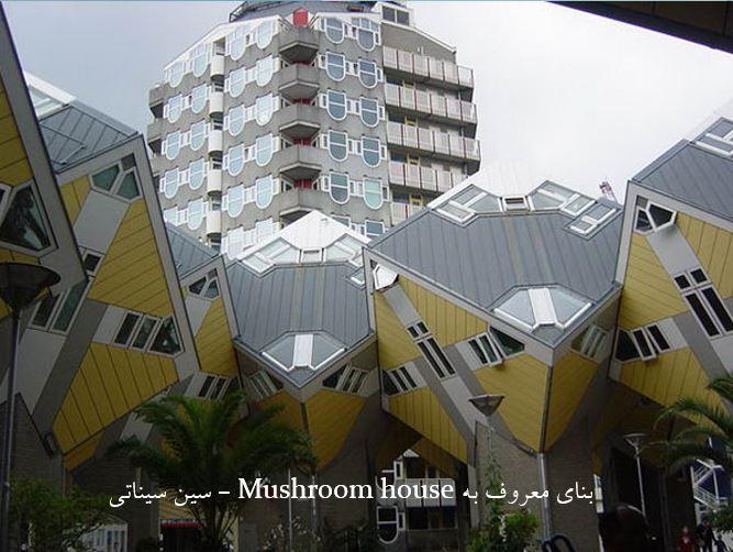 بنای معروف به Mushroom house - سین سیناتی