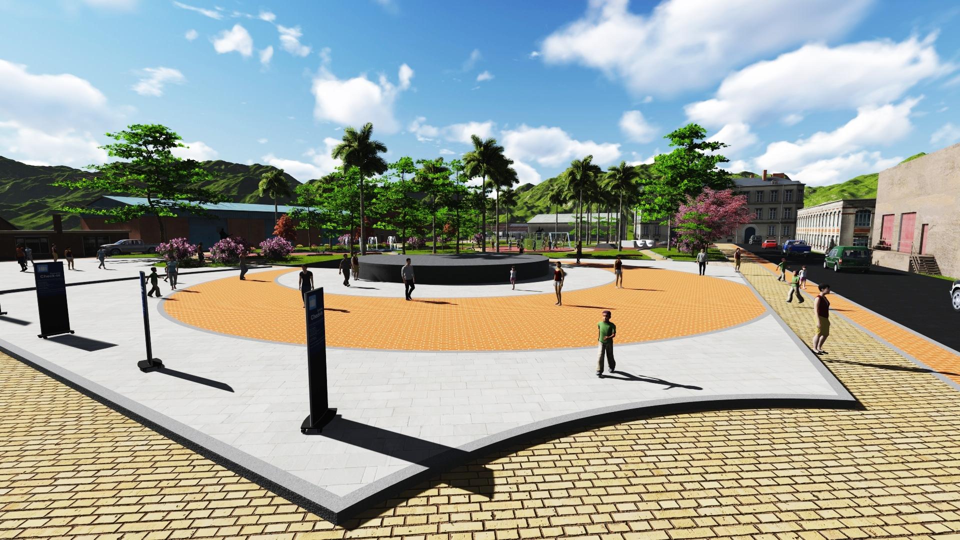 پروژه طراحی پارک (بوستان)
