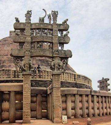 دروازه و معبد بزرگ بودا