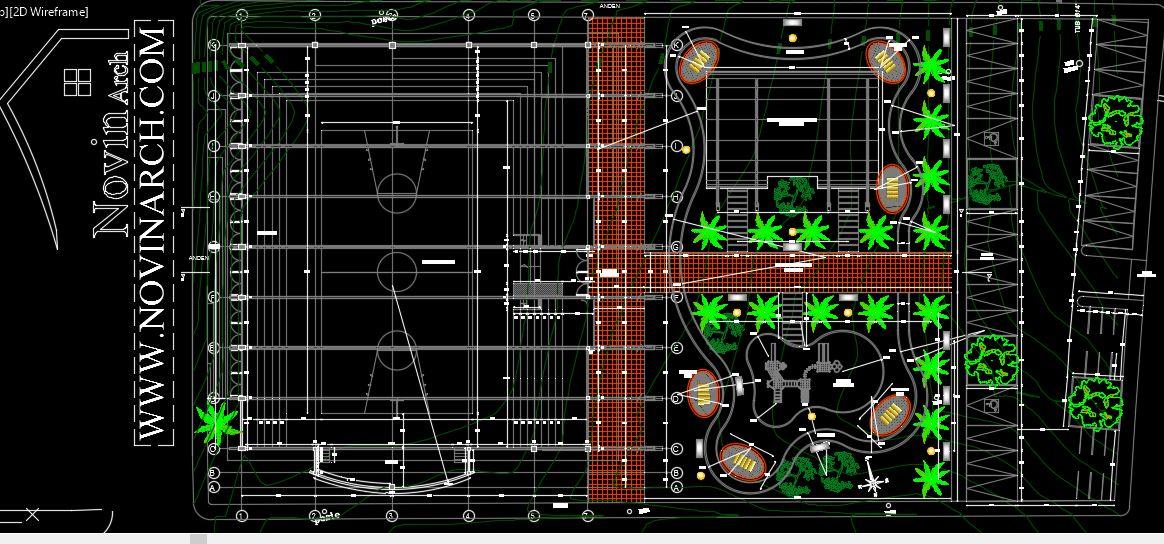 پلان معماری پروژه