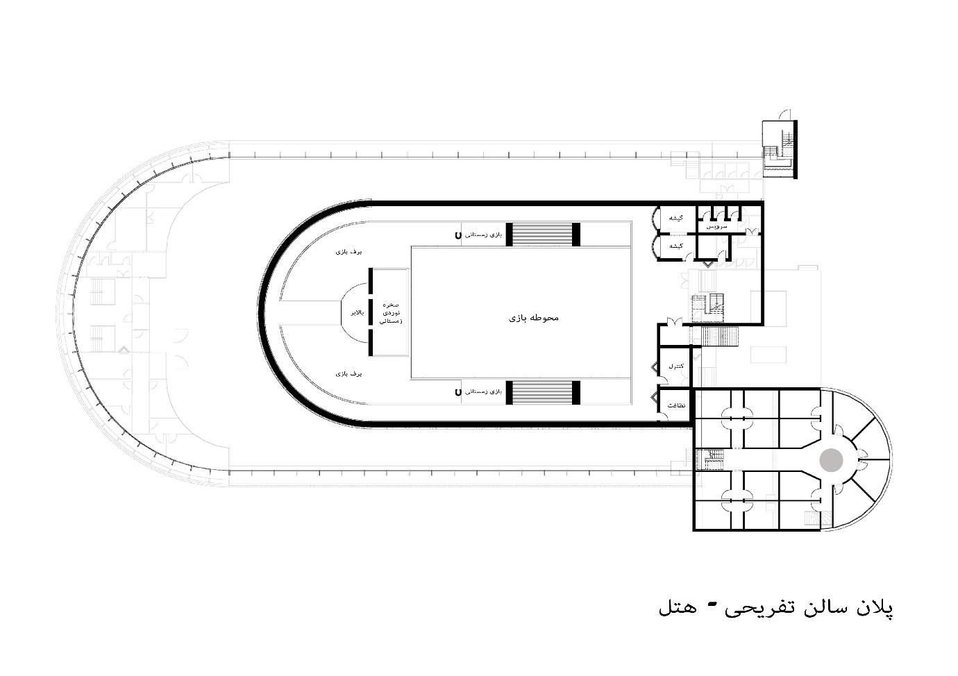 پلان طبقه اول