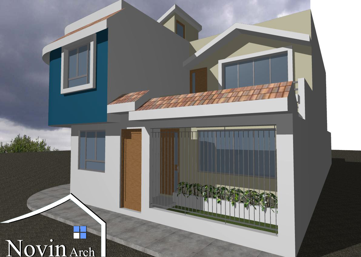 پروژه معماری ساختمان مسکونی