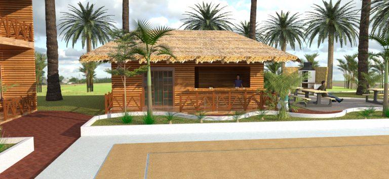 پروژه معماری اقامتی تفریحی