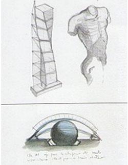 آناتومی بدن انسان در معماری