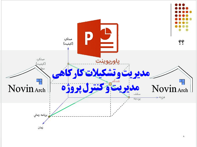 Image result for پاورپوینت مدیریت و کنترل پروژه