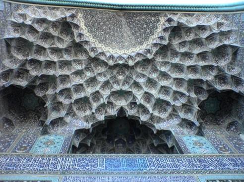 فراکتال در معماری ایرانی