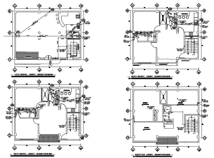 پلان های تاسیسات مکانیکی