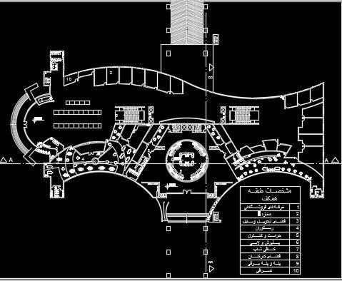 پلان طبقه همکف