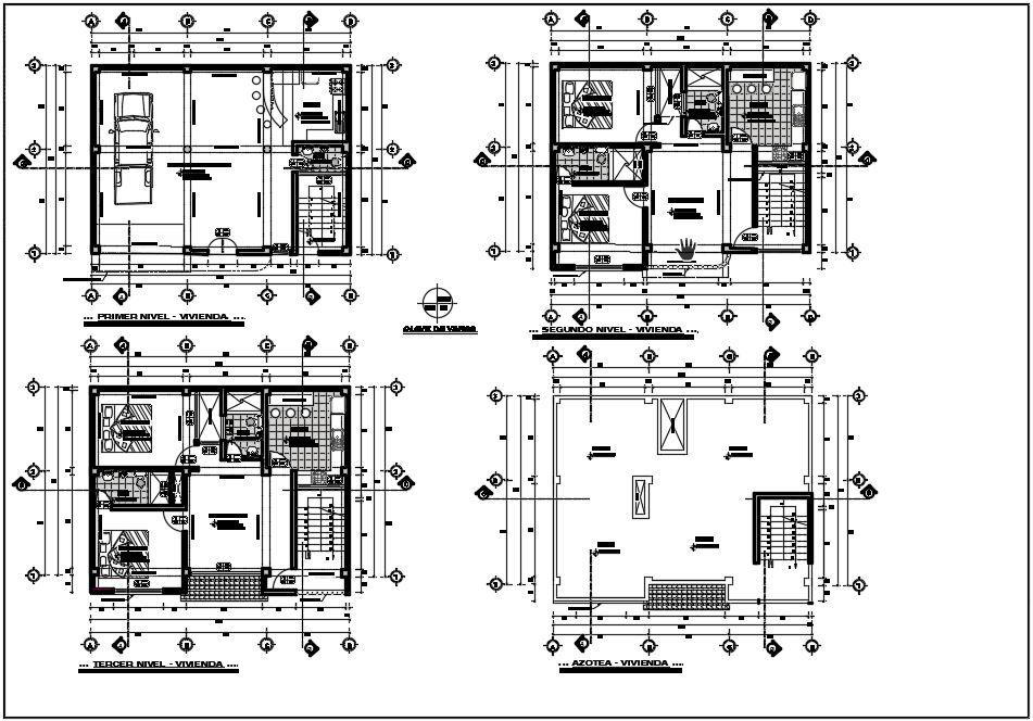 پلان های پروژه طراحی فنی
