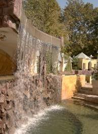 پاورپوینت معماری چرخش آب در باغ