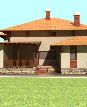 پروژه معماری ویلا