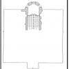 نقشه شماره 3 پلان نیم طبقه اول عمارت سرچشمه نگارنده
