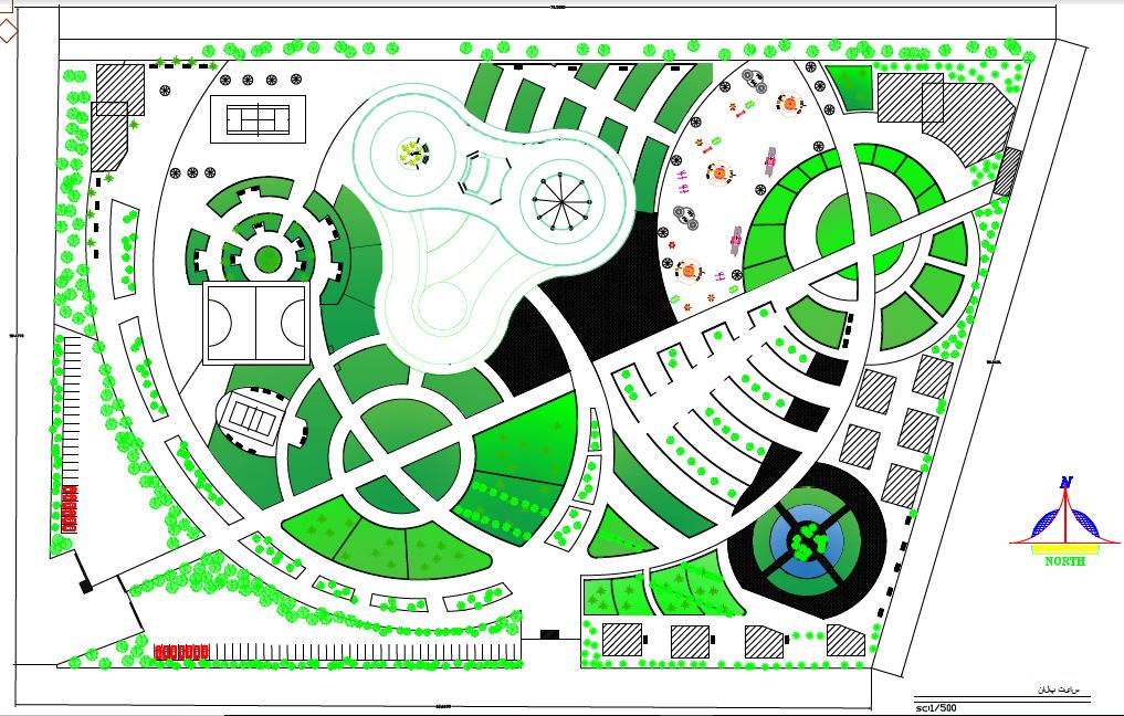 سایت پلان پروژه معماری طراحی هتل