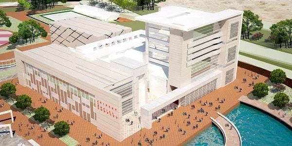 پروژه معماری مجتمع تجاری تفریحی
