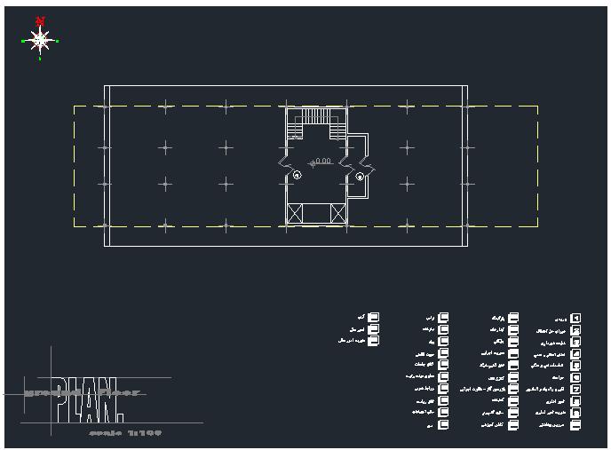 پروژه معماری ساختمان شهرداری