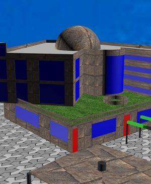 پروزه معماری موزه