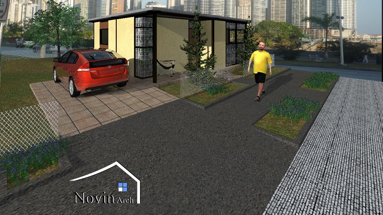 پروژه معماری ویلا شماره 1