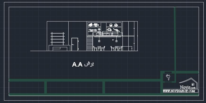 برش معماری پروژه