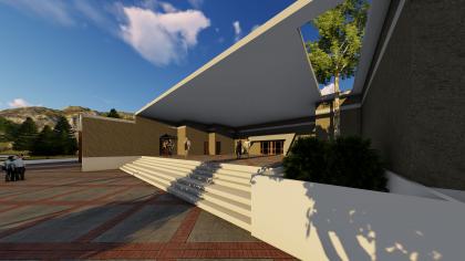 دانلود پروژه طراحی معماری موزه