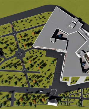 دانلود پروژه معماری طراحی هتل