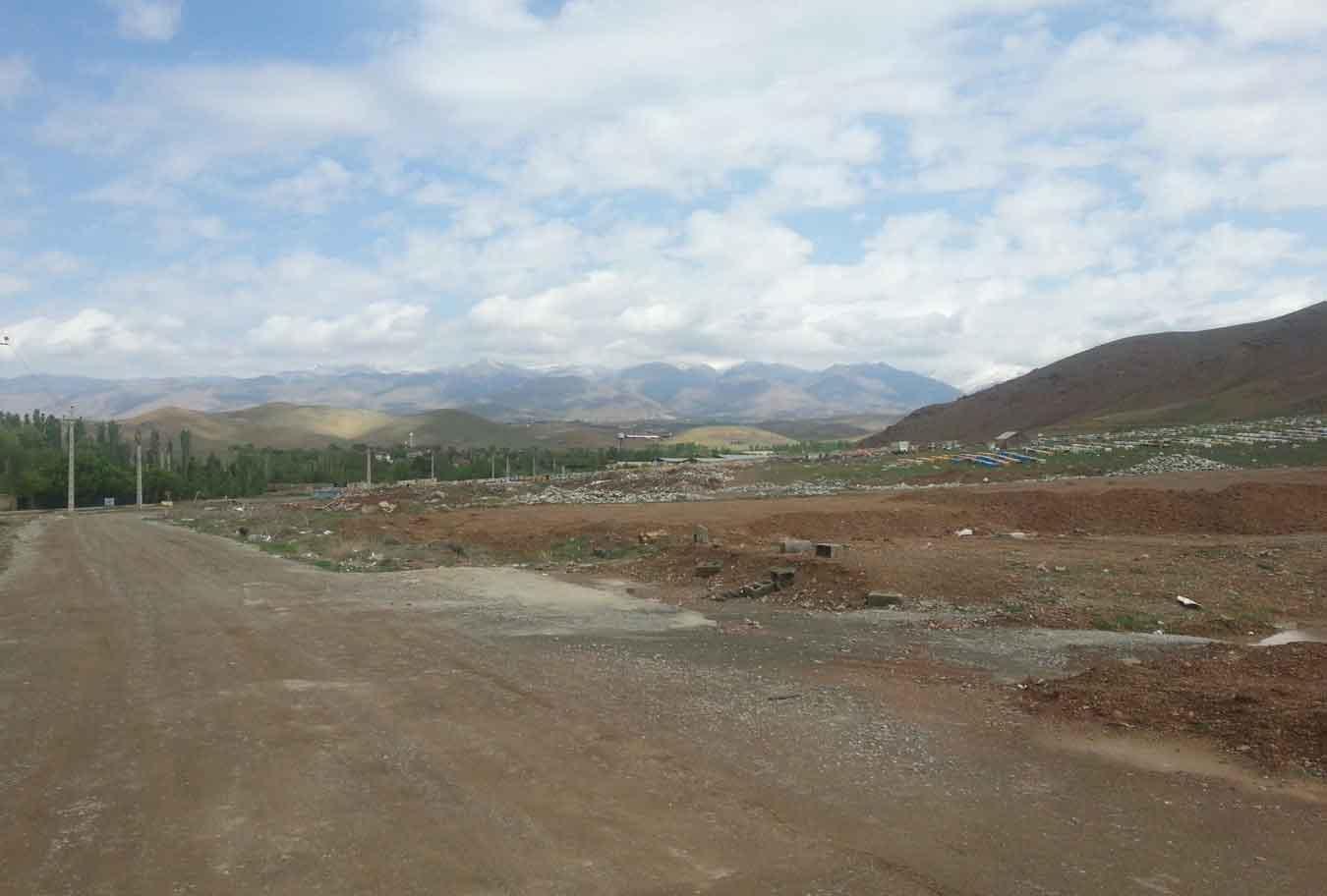 بخش شمالی روستای کردان جاده برغان