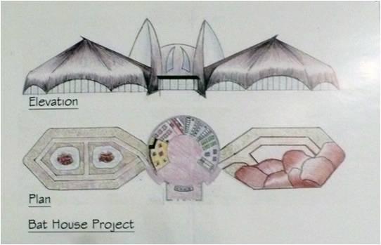رابطه خفاش و معماری