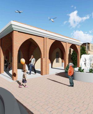 دانلود پروژه طراحی منظر شهری ( محله سنگلج تهران )