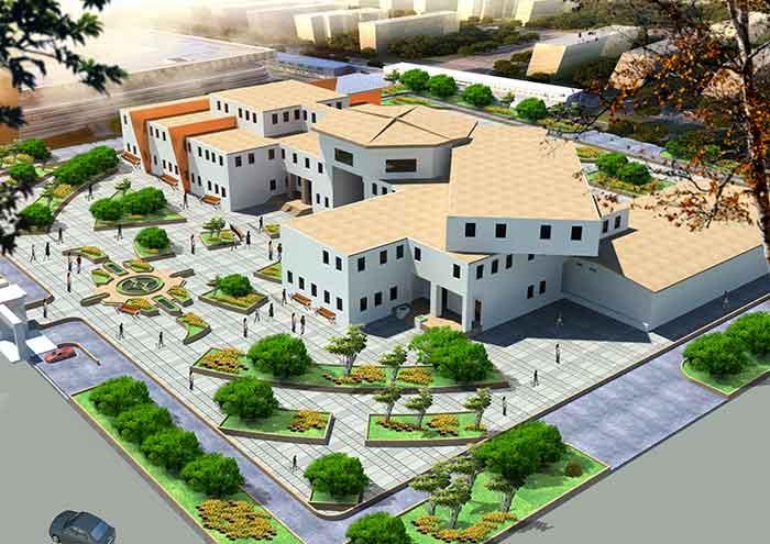 دانلود پروژه طراحی دانشکده معماری با تمامی مدارک