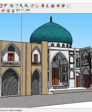 فایل سه بعدی مسجد شیخ لطف الله